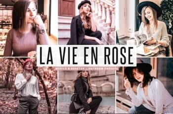 La Vie En Rose Mobile & Desktop Lightroom Presets 4749780