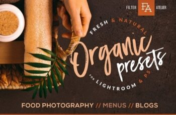 Organic Food Presets for Desktop & Mobile 4732921 6