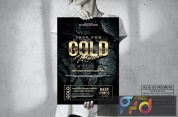 Gold Miner - Big Poster Design B3LVDKA 7