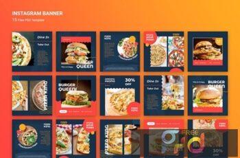 Instagram Banner Burger Fast Food TPUAYHU 2