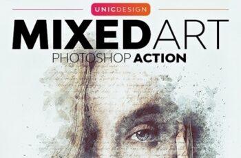 Mixed Art Photoshop Action 26035327 4