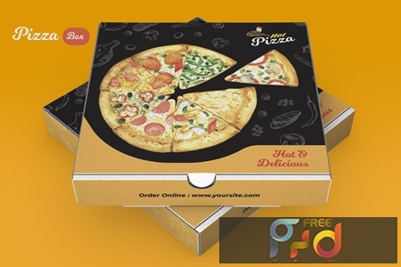 Pizza Box Design B9GYZU5 1