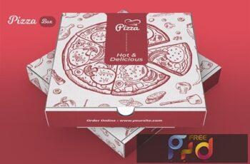 Pizza Box Design 9AQBZ3P 6