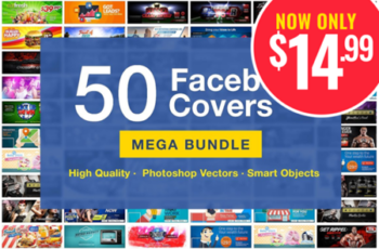 50 Facebook Covers Bundle 3727902 6