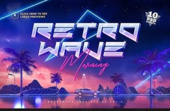 80s Retro Text Effects vol.2 26131541 8