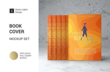 Book Cover Mockup Set 4126980 7