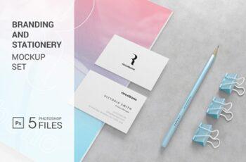 Branding And Stationery Mockup 4122904 5