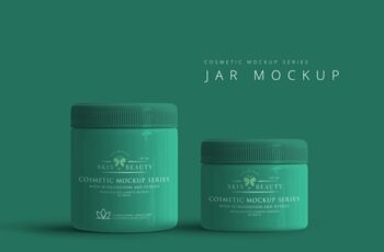 Cosmetic Jar Mockup 3044189 4