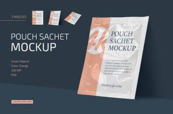 Pouch Sachet Mockup Set 4716248 2