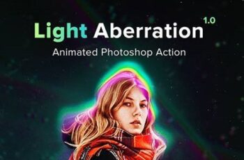 Animated Light Aberration - Photoshop Action 22505480 5