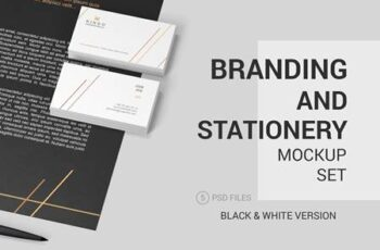 Stationery Branding Mockup Set 2691967 6