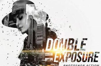 Double Exposure Photoshop Action 22555525 4