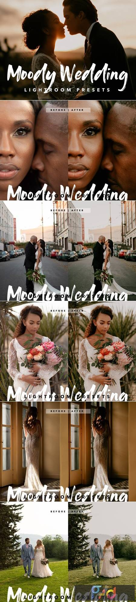 Moody Wedding 01 - Lightroom Presets 4633893 1