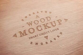 Carved Wood Text Effect Mockup 333527780 7