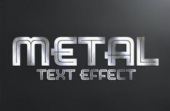 Metal Text Effect Style Mockup 333526355 14