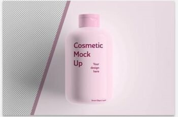 Cosmetic Bottle Mockup 333483197 7