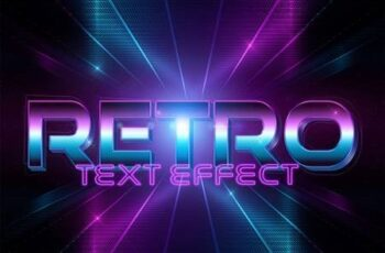 Disco Style Text Effect Mockup 333527605 12