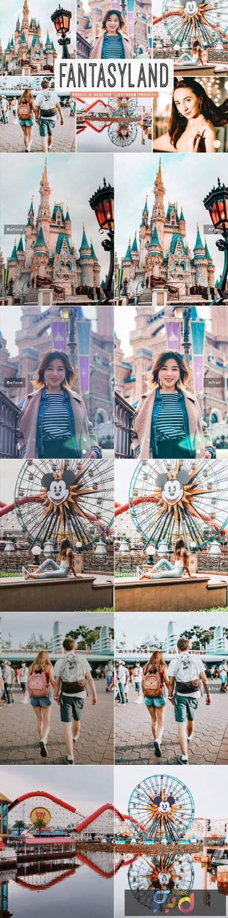 Fantasyland Lightroom Presets Pack 3786406 1