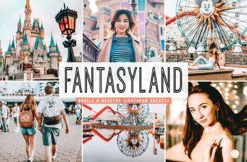 Fantasyland Lightroom Presets Pack 3786406 3