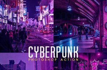 Cyberpunk Photoshop Action 26158552 6