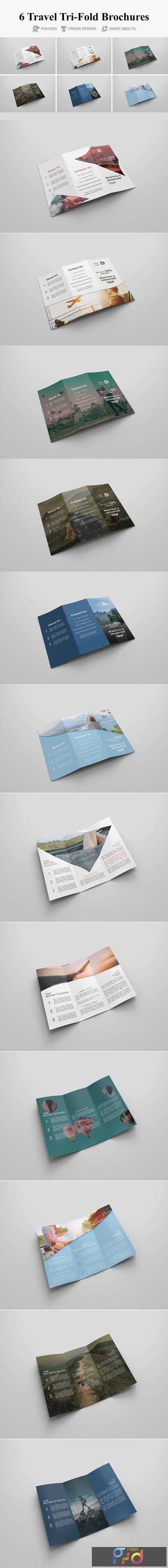 Travel Tri-fold Brochures 4401680 1