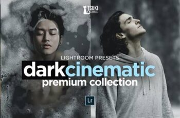 DARK CINEMATIC LIGHTROOM PRESETS 4623271 4