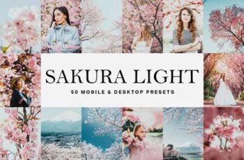 50 Sakura Light Lightroom Presets and LUTs 4783167 8
