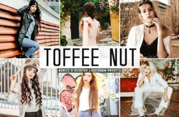Toffee Nut Lightroom Presets Pack 4742263 5
