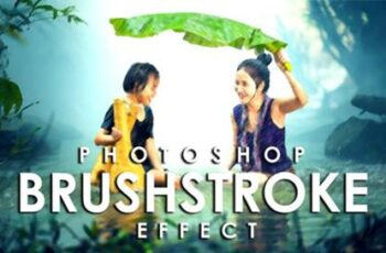 Vibrant Brushstroke Photoshop Action 3802594 5