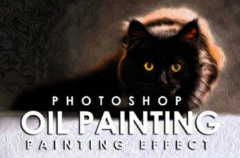 Vibrant Oil Painting Photoshop Action 3802214 3