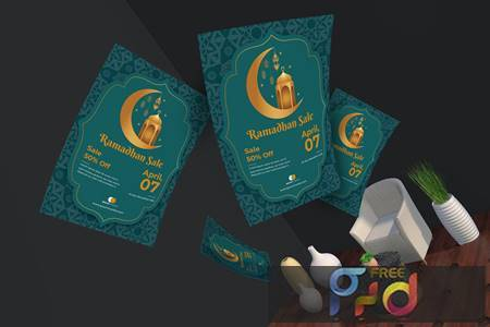 Ramadan Sale Flyer & Poster Template 6HRY7V3 1