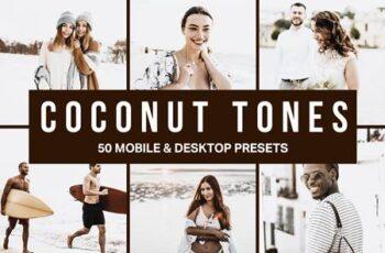 50 Coconut Tones Lightroom Presets and LUTs 4517974 5