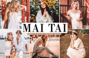 Mai Tai Lightroom Presets Pack 3815664 5