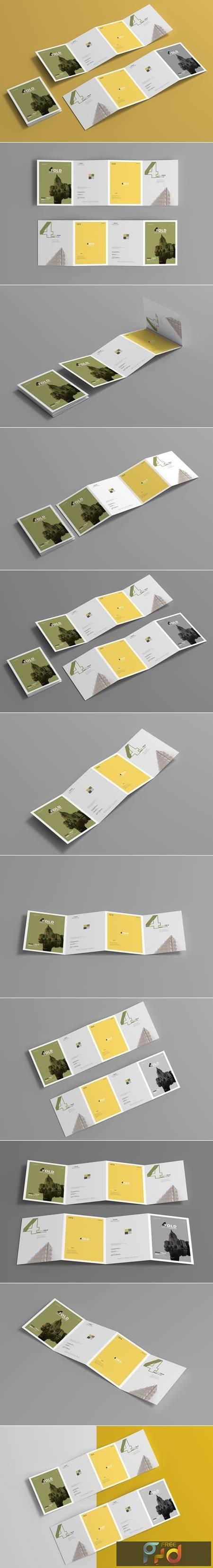 A4 Four Fold Brochure Mockups 4657765 1