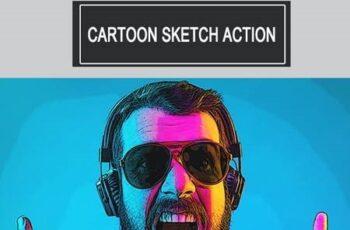 Cartoon Sketch Action 26204479