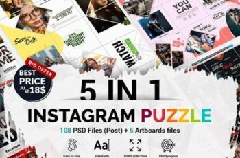 Instagram Puzzle Bundle 26164747 6