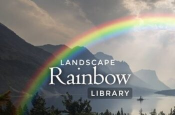 Landscape Rainbow Library - Photoshop Action 25878214 5