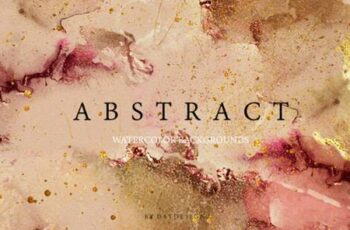 Abstract Watercolor Collection 3798320 7