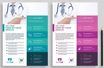 Healthcare Flyer Layout 3801700 1