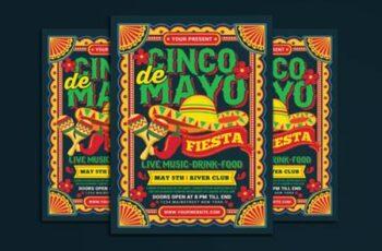 Cinco De Mayo Flyer 3818408 6