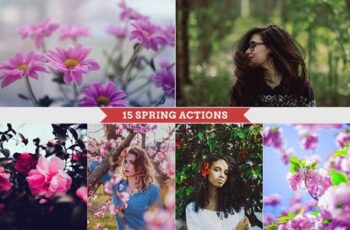 Spring Photoshop Actions 4710524 9
