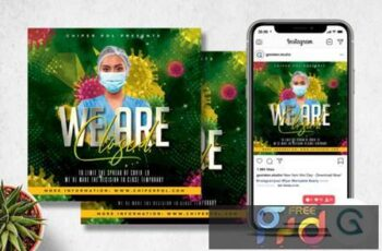 Night Club Closed Flyer Template 3821348 7