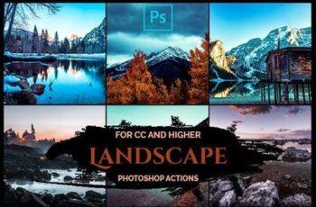 Landscape - Pro Photoshop Actions 26070745 5