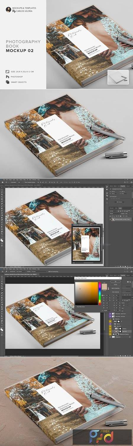 Hardcover Photo Book Mockup 02 4765306 1