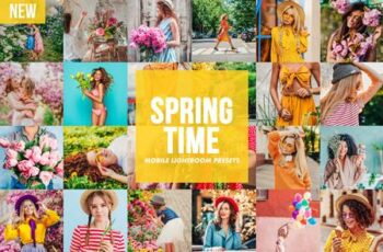 Mobile Lightroom Presets SPRINGTIME 4817978 3