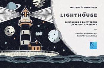 Lighthouse Liner Affinity Brushes 4712070 16