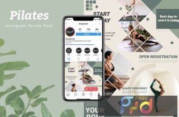 Pilates - Instagram Puzzle Pack FH9BNV7 5