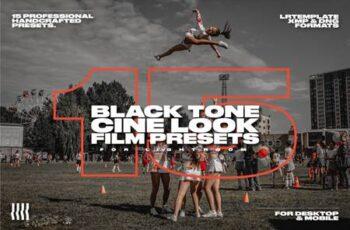 15 Black Tone Cine Look Film Presets 4539090 6