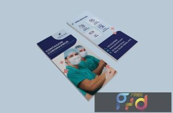 Coronavirus medical DL Rackcard RRRK8V7 6