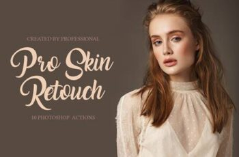 Pro Skin Retouch Photoshop Actions 4548028 4
